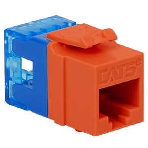 IC1078F5OR ICC MODULE, CAT 5E, HD, ORANGE ************************* SPECIAL ORDER ITEM NO RETURNS OR SUBJECT TO RESTOCK FEE *************************
