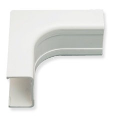 "ICRW11ICWH ICC 3/4"" INSIDE CORNER COVER FOR RACEWAY, WHITE (BOUGHT IN 10 SOLD SINGLE)"