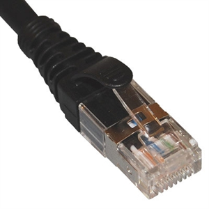 ICPCSG05BK ICC PATCH CORD, CAT 6A, FTP, 5 FT, BLACK ************************* SPECIAL ORDER ITEM NO RETURNS OR SUBJECT TO RESTOCK FEE *************************