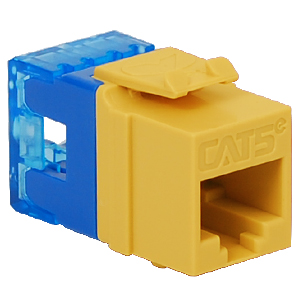 IC1078F5YL ICC MODULE, CAT 5E, HD, YELLOW ************************* SPECIAL ORDER ITEM NO RETURNS OR SUBJECT TO RESTOCK FEE *************************