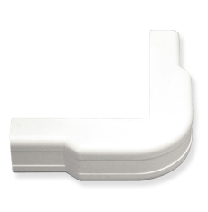 "ICRW11OCWH ICC 3/4"" OUTSIDE CORNER COVER FOR RACEWAY, WHITE (BOUGHT IN 10 SOLD SINGLE)"