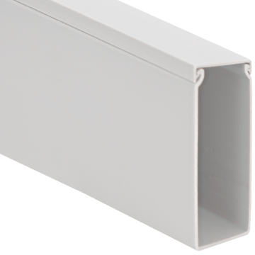 """ICRWS246WH ICC SOLID WALL DUCT WIRE MOLD 2""""W X 4""""H X 6FT LONG WHITE ************************** CLEARANCE ITEM- NO RETURNS *****ALL SALES FINAL****** **************************"""