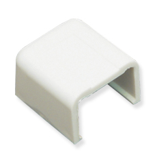 "ICRW12ECWH ICC 1 1/4"" END CAP FOR RACEWAY, WHITE (BOUGHT IN 10 SOLD SINGLE)"