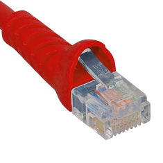 ICPCSJ01RD ICC PATCH CORD, CAT 5E, MOLDED BOOT, 1' RD ************************* SPECIAL ORDER ITEM NO RETURNS OR SUBJECT TO RESTOCK FEE *************************