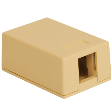 IC107SB1IV ICC SURFACE MOUNT BOX 1 PORT IVORY