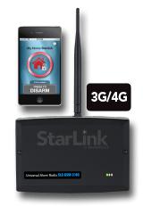 SLE-GSM-3/4G NAPCO StarLink Up/Downloadable GSM alarm communicator. 3G and 4G Network Compatible