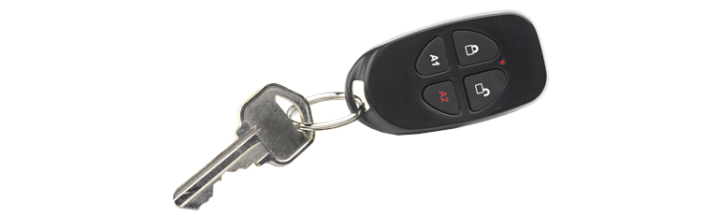 GEM-KEYFLR NAPCO WIRELESS KEYFOB 4 BUTTON FOB WITH EXTENDED RF RANGE ************************* SPECIAL ORDER ITEM NO RETURNS OR SUBJECT TO RESTOCK FEE *************************