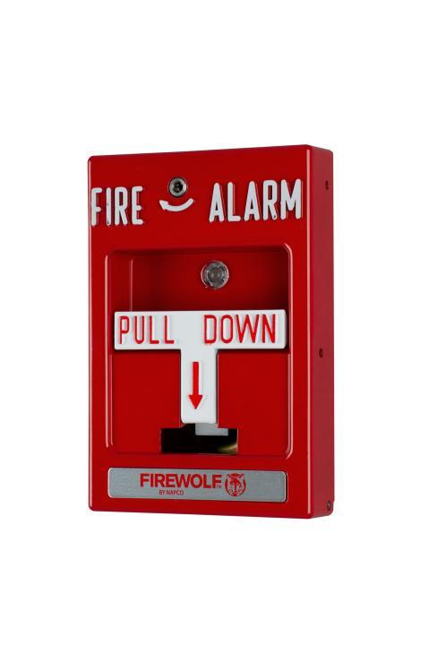 FWC-FSLC-PULL NAPCO ADDRESSABLE SLC FIRE PULL STATION
