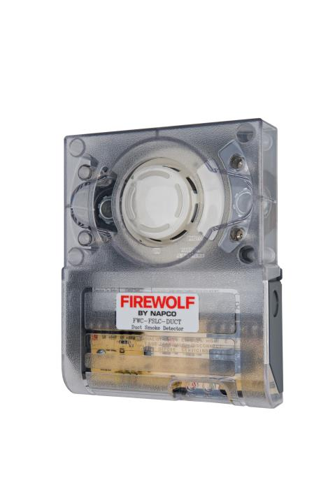 FWC-FSLC-DUCT NAPCO Addressable Analog SLC Photoelectric Duct Smoke Detector - REQUIRES GEMC-24VR