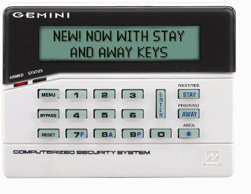 GEM-RP8LCD NAPCO 32 CHARACTER ALPHA BACKLIT KEYPAD WITH 2 ZONE MODULE ************************* SPECIAL ORDER ITEM NO RETURNS OR SUBJECT TO RESTOCK FEE *************************