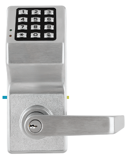 DL3000/26D ALARM LOCK TRILOGY LEVER SET SATIN CHROME/AUDIT TRAIL ************************* SPECIAL ORDER ITEM NO RETURNS OR SUBJECT TO RESTOCK FEE *************************