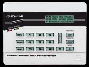 GEM-K4 NAPCO LCD KEYPAD NO REC