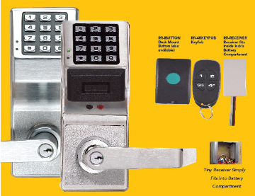RR-TRILOGYKIT ALARM LOCK REMOTE RELEASE KIT FOR TRILOGY LOCKSETS INCLUDES RECEIVER TO MOUNT INSIDE LOCK AND WIRELESS UNDER DESK RELEASE BUTTON ************************* SPECIAL ORDER ITEM NO RETURNS OR SUBJECT TO RESTOCK FEE *************************