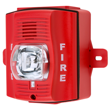 P2RHK-120 SYSTEM SENSOR 2 WIRE HORN/STROBE WALL HI CANDELA RED OUTDOOR 120V ************************* SPECIAL ORDER ITEM NO RETURNS OR SUBJECT TO RESTOCK FEE *************************
