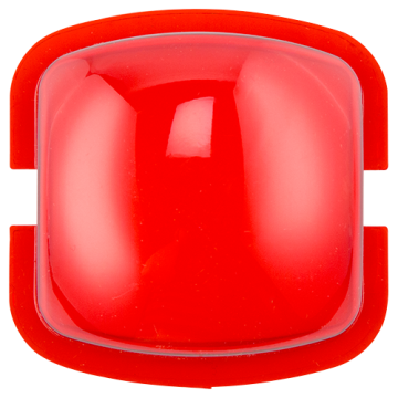 LENS-R SYSTEM SENSOR WALL STROBE LENS ATTACHMENT, RED ************************* SPECIAL ORDER ITEM NO RETURNS OR SUBJECT TO RESTOCK FEE *************************