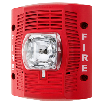 SPSRK-R SYSTEM SENSOR WALL SPEAKER STROBE, REPLACEMENT, RED, WEATHERPROOF ************************** CLEARANCE ITEM- NO RETURNS *****ALL SALES FINAL****** **************************
