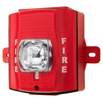 SRHK SYSTEM SENSOR STROBE WALL HI CANDELA RED OUTDOOR ************************* SPECIAL ORDER ITEM NO RETURNS OR SUBJECT TO RESTOCK FEE *************************