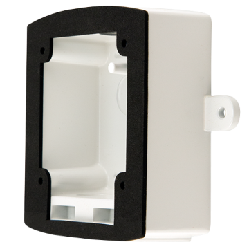 SA-WBBW SYSTEM SENSOR WHITE WALL METAL OUTDOOR BACK BOX FOR USE HORNS, STROBES, AND HORN STROBES ************************* SPECIAL ORDER ITEM NO RETURNS OR SUBJECT TO RESTOCK FEE *************************