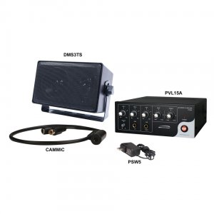 2WAK2 SPECO Two-way Audio Kit for DVR's with PVL15A Amplifier ************************* SPECIAL ORDER ITEM NO RETURNS OR SUBJECT TO RESTOCK FEE *************************