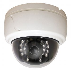 CLED30D1W SPECO Indoor Plastic Dome w/ IR & VF Lens, 600 TVL, 12VDC, White Housing ************************* SPECIAL ORDER ITEM NO RETURNS OR SUBJECT TO RESTOCK FEE *************************