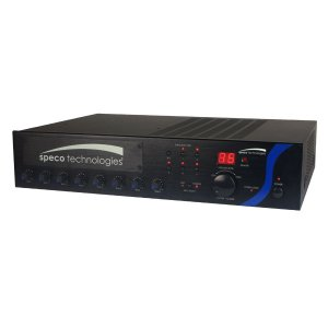PBM120A SPECO 120W PA MIXER AMPLIFIER WITH MODULE BAY ************************* SPECIAL ORDER ITEM NO RETURNS OR SUBJECT TO RESTOCK FEE *************************
