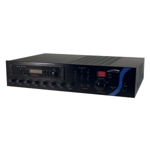 PBM120AT SPECO 120W PA Mixer Amplifier with Tuner ************************* SPECIAL ORDER ITEM NO RETURNS OR SUBJECT TO RESTOCK FEE *************************