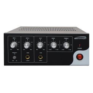 """PVL30A SPECO 30W PA MIXER AMPLIFIER 4&8 OHMA, 25&70V OUTPUTS - 2 (One 1/4"""" and one 1/4"""" or XLR) MIC INPUTS- 1 (One 1/4"""" or RCA Stereo) AUX INPUT ************************* SPECIAL ORDER ITEM NO RETURNS OR SUBJECT TO RESTOCK FEE *************************"""