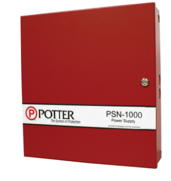 PSN-1000E POTTER INTELLIGENT POWER SUPPLY WITH LARGE ENCLOSURE FOR STACKING EXTRA SLC BOARD ************************* SPECIAL ORDER ITEM NO RETURNS OR SUBJECT TO RESTOCK FEE *************************