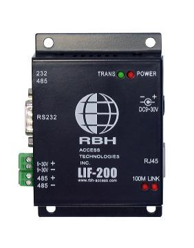 RBH-LIF-200 RBHUSA LAN INTERFACE MODULE (TCP/IP) FOR INTEGRA32 SYSTEM
