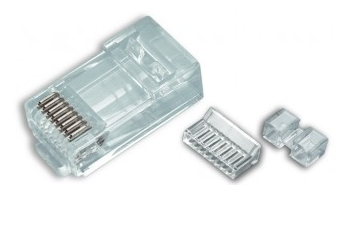 106178J PLATINUM RJ45 (8P8C) CAT6 HIGH PERFORMANCE, ROUND-SOLID 3-PRONG. 100/JAR.