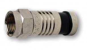 18011 PLATINUM TOOLS F RG59 Compression Connector, Nickel Plate. (Bulk,1ea.) Pkg 100pc/Bag. ************************* SPECIAL ORDER ITEM NO RETURNS OR SUBJECT TO RESTOCK FEE *************************