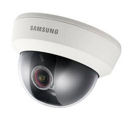 "SUD-2081 SAMSCCTV Analog UTP Dome Camera, 1/3"" CCD, 600 TVL, Vari-focal Lens (2.8-10mm), True D/N, BNC Out, 24VAC/12VDC"