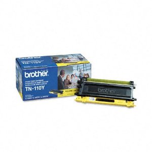 BRT-TN110Y BROTHER TONER YELLOW FOR MFC9440CN HL4040CN HL4070CDW 6000 PG YLD