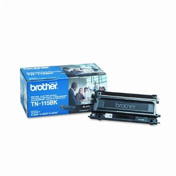 BRT-TN115BK BROTHER HIGH YIELD BLACK TONER FOR MFC-9440CN HL4040CN HL4070CRW