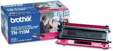 BRT-TN115M BROTHER HIGH YIELD MAGENTA TONER FOR MFC-9440CN HL4040CN HL4070CRW