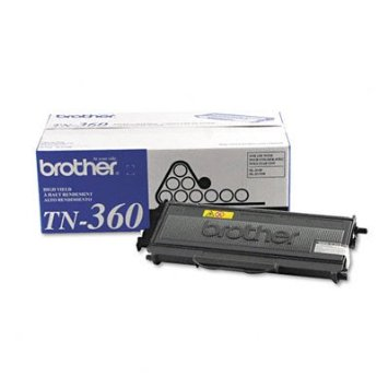 BRT-TN360 BROTHER HIGH YIELD TONER CARTRIDGE FOR HL2140/HL2170W 2600 PAGE YIELD