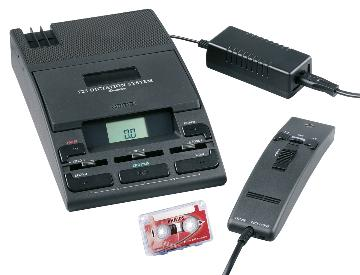 PSP-LFH0725/20 PHILIPS DICTATION BUNDLE W/ 0276 MIC, POWER SUPPLY AND 0005 MINI CASSETTE TAPE (WAS LFH0725/P62)