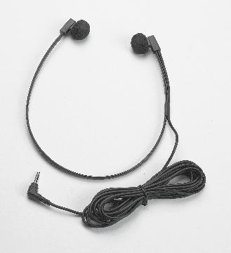 VEC-SPECTRAL VEC TWIN-SPEAKER HEADSET W/ 10FT CORD 3.5MM STRAIGHT PLUG AND BLACK STORAGE POUCH