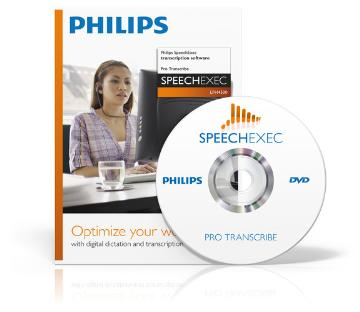 PSP-LFH4501/00 PHILIPS SPEECHEXEC PRO TRANSCRIBE INCLUDES SR, SOFTWARE ONLY, LICENSE KEY SENT BY EMAIL