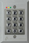 KP-200 ALARM CONTROLS FLUSH MOUNT WEATHERPROOF DIGITAL KEYPAD