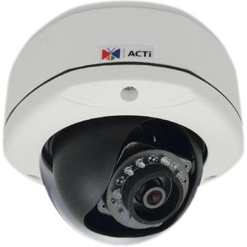 D71A ACTI 1MP Outdoor Dome with D/N, Adaptive IR, Fixed lens, f2.93mm/F2.0, H.264, 720p/30fps, DNR, Audio, MicroSDHC/MicroSDXC, PoE, IP67, IK10, DI/DO ************************* SPECIAL ORDER ITEM NO RETURNS OR SUBJECT TO RESTOCK FEE *************************