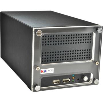 ENR-120 ACTI 9 CHANNEL 2 BAY DESKTOP STANDALONE NVR - 36MBPS THROUGHPUT - NO HDDR
