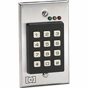 232CVS LINEAR FLUSHMOUNT INDOOR KEYPAD; SINGLE GANG DESIGN, DELAY ON THE DPS CONTACT. STAINLESS FACE PLATE. CVS STORES 0-213119