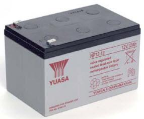 YA-NP12-12 YUASA 12V 12AH LEAD ACID BATTERY