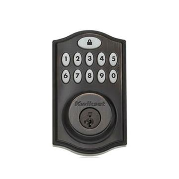 99140-003 KWIKSET 914TRL SMARTCODE DEADBOLT WITH HOME CONNECT VENETIAN BRONZE