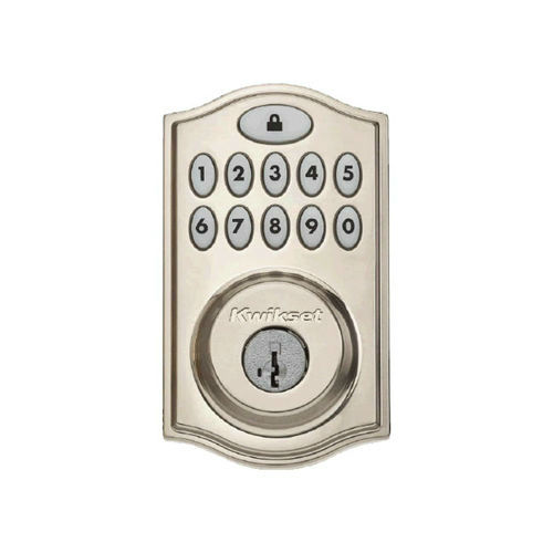 99140-002 KWIKSET 914TRL SMARTCODE DEADBOLT WITH HOME CONNECT SATIN NICKEL ************************* CLEARANCE ITEM-NO RETURNS *************************