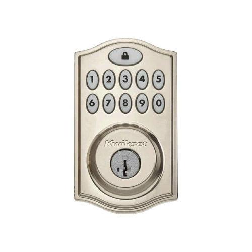 99140-002 KWIKSET 914TRL SMARTCODE DEADBOLT WITH HOME CONNECT SATIN NICKEL