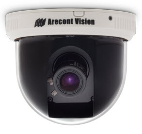 D4S-AV2115DNv1-3312 ARECONT AV2115DN + MPL33-12 Varifocal and D4S Surface Mount Indoor Dome, CASINO ************************* SPECIAL ORDER ITEM NO RETURNS OR SUBJECT TO RESTOCK FEE *************************