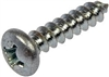 "8X2 #8 X 2"" PAN COMBO SMS ""A"" HARD & ZINC PLATED SCREW (BOX OF 100)"