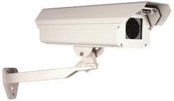 "STI-7100K STI ALUMINUM HOUSING 7"" LENGTH FOR CAMERA & LENS/BRACKET WITH HEATER AND BLOWERI"